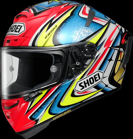 53-54cm red Full Face Helmet Jerez XS