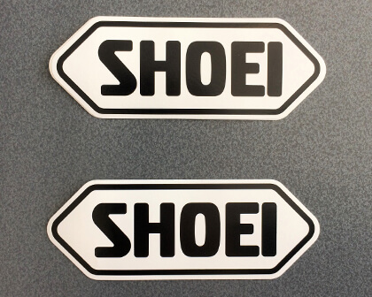 SHOEI Logo Stickers
